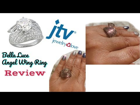 UNBOXING, REVIEW // JTV's Bella Luce Dillenium Cut Angel Wing Silver Ring