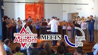Posaunenklasse des Stiftsgymnasiums Admont meets KUG