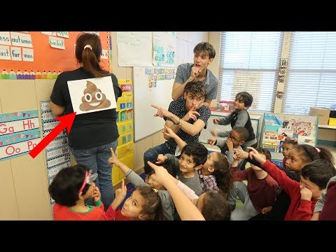 Funny PRANK on Teacher!