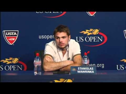2010 US Open Press Conferences: Stanislas Wawrinka (Third Round)