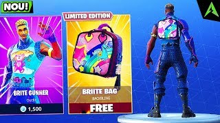 "The NEW ""BRITE BAG"" SECRET NOW RELEASED in Fortnite: Battle Royale"