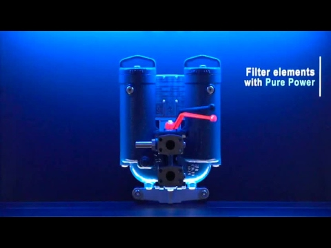 Filter elements with PURE POWER in the 63 FLDK Duplex filter [en]