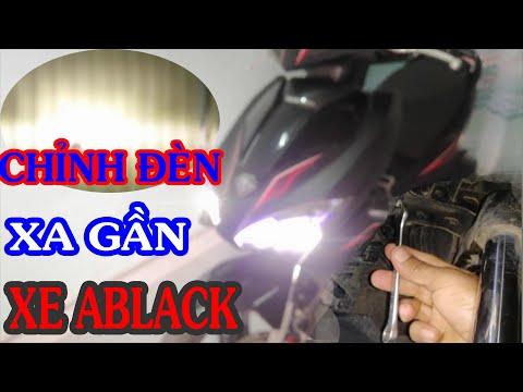 Hướng dẫn cách điều chỉnh đèn xe Airblade   Điều chỉnh xa gần đèn xe Air blade