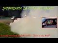 Incendio en el Galvez - Burnout extremo BMW 540i - No se puede creer!