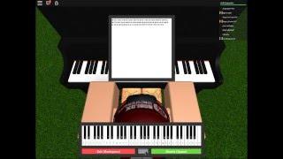Skyscraper Roblox piano cover - demi lovato