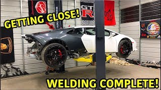This is what we have all been waiting for!!! This Lamborghini build is moving right along and we can't wait to get it on the streets. We are going step by step and ...