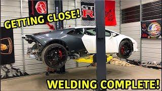 Rebuilding A Wrecked Lamborghini Huracan Part 11