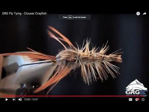GRG Fly Tying - Clouser Crayfish