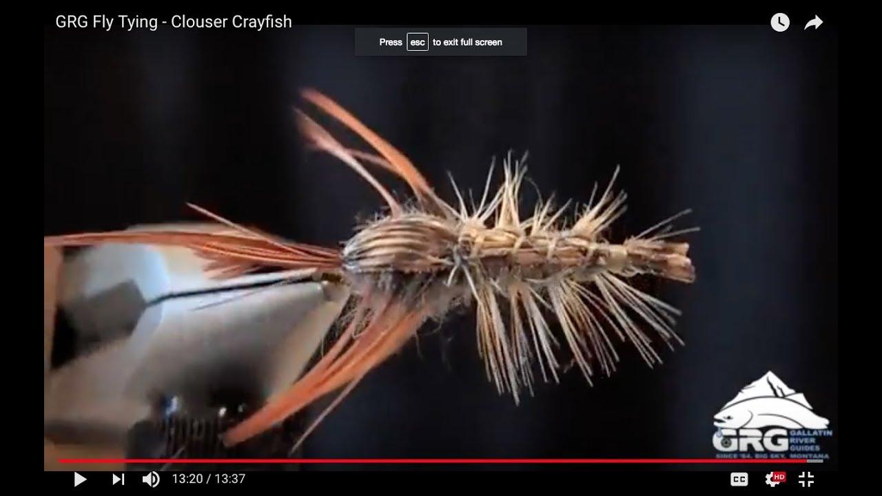 1 Size #8 Ritt/'s Fighting Crawfish Tan Montana Fly Company
