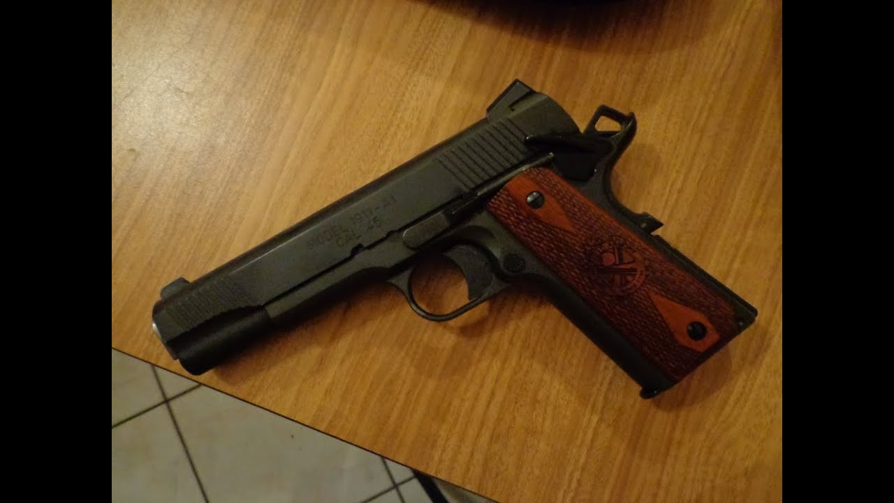 Springfield Armory Loaded 1911 Review & Range Action