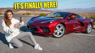 2020 C8 CORVETTE FIRST DRIVE! I'M IN LOVE!