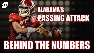 Alabama's passing attack: Behind the numbers | PFF