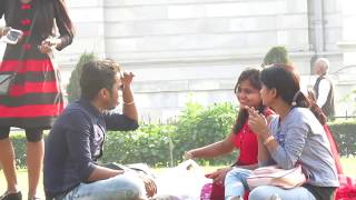 Falling Down In Fornt of Public Prank   Awkward Situation   PrankBuzz