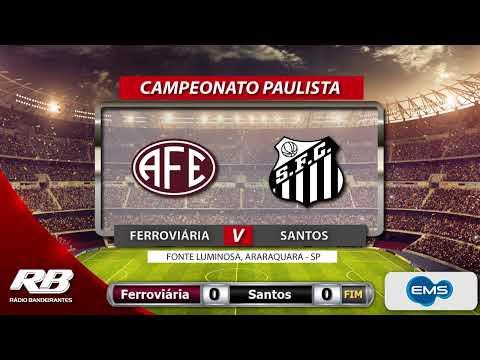 ?Campeonato Paulista - Palmeiras X Mirassol e Ferroviária X Santos - 16/02/2020 - AO VIVO