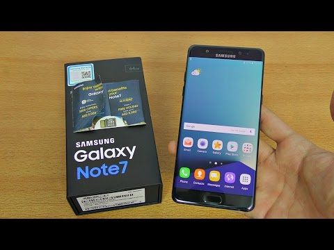Samsung Galaxy Note 7 Unboxing, Setup & First Look! (4K)
