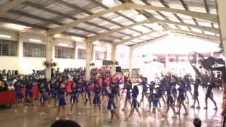 4th Year Cheer Dance
