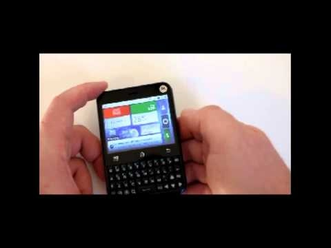 Telus Motorola Charm Android Smartphone Review
