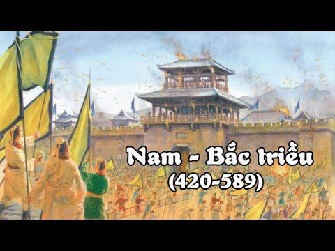 Tóm Tắt: Nam - Bắc triều  (420-589) | Northern and Southern dynasties| Tóm Tắt Gọn