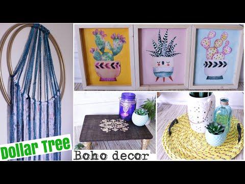 Dollar Tree DIY BOHO Decor