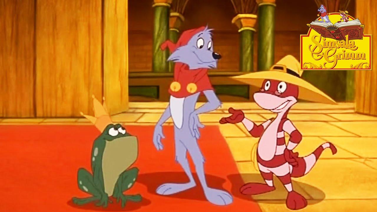 Le roi grenouille simsala grimm hd dessin anim des contes de grimm youtube - Dessin de grenouille a imprimer ...