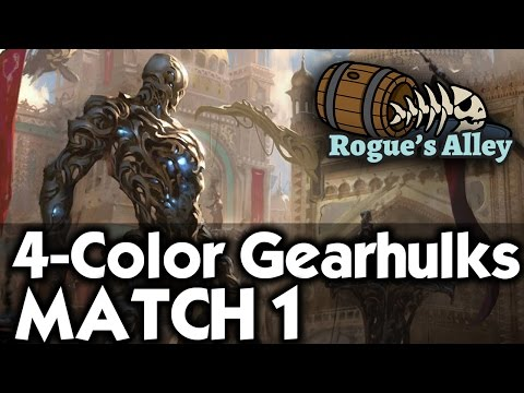 MTG Standard: 4-Color Gearhulks vs Red/Green Energy - Rogue's Alley