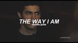 Charlie Puth - The Way I Am (Traducida al español) Video