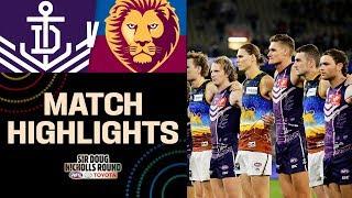 Must-watch thriller | Fremantle v Brisbane Highlights | Round 10, 2019 | AFL