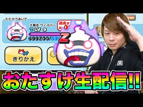 ぷにぷに「いつもありがとう!!」ランクZウィスパーGETのおたすけします!!【妖怪ウォッチぷにぷに】Yo-kai Watch とーまゲーム