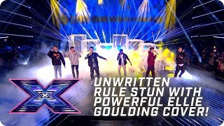 Unwritten Rule stun with POWERFUL Ellie Goulding Cover! | X Factor: The Band | The Final