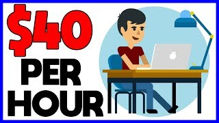 Earn $40 per hour doing people's ...
