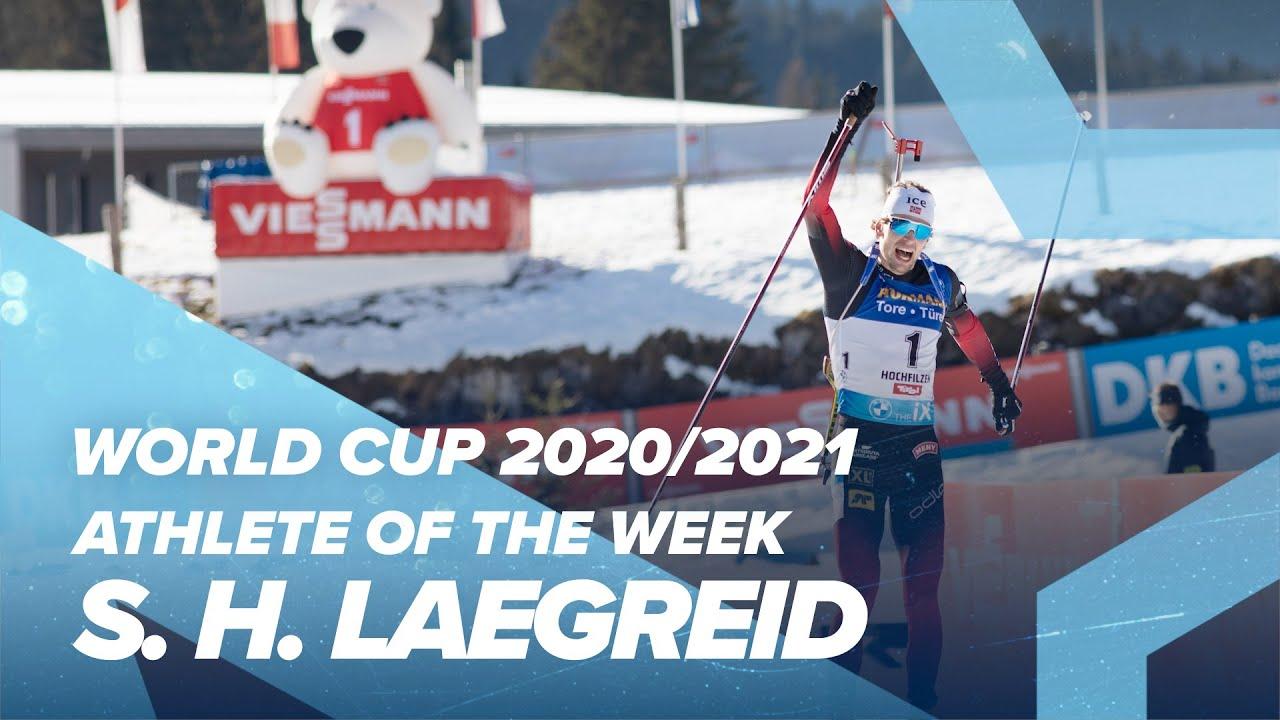 Athlete Of The Week 4 Sturla Holm Laegreid Youtube
