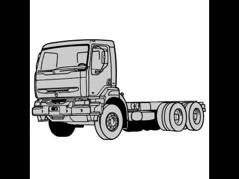 Renault Kerax Service Manual Repair Manual Wiring Diagrams Youtube