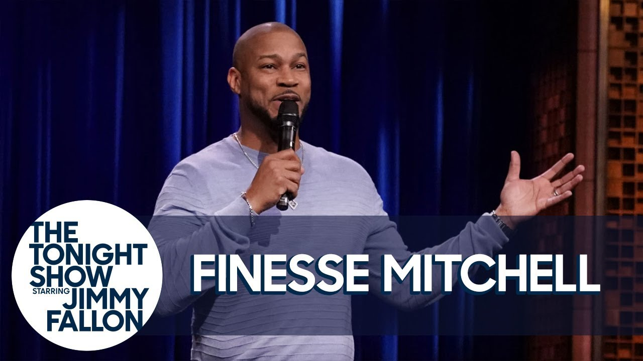 Finesse Mitchell Stand-Up on 'The Tonight Show'