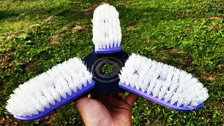Homemade nozzle for TRIMMER !!!!! SIMPLY EXPERIMENT !!!!! + TEST DO NOT ATTEMPT AT HOME