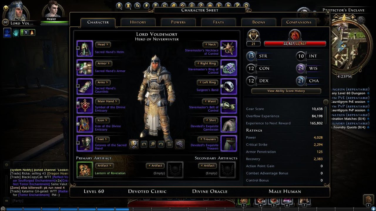 Cleric Builds