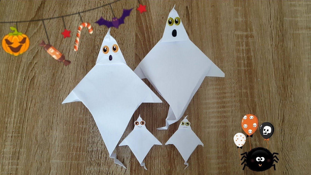 Origami halloween images craft decoration ideas origami halloween gespenst nocolas terry halloween ghost youtube origami halloween gespenst nocolas terry halloween ghost jeuxipadfo jeuxipadfo Choice Image