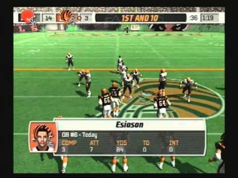 Madden NFL 07 Historic Teams Special 1986 Cleveland Browns vs 1988 Cincinnati Bengals