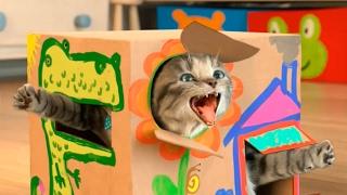 МОЙ Маленький КОТЕНОК #3 Симулятор котика Видео как Мультик Для детей Виртуальный питомец МАЛЫШЕРИН