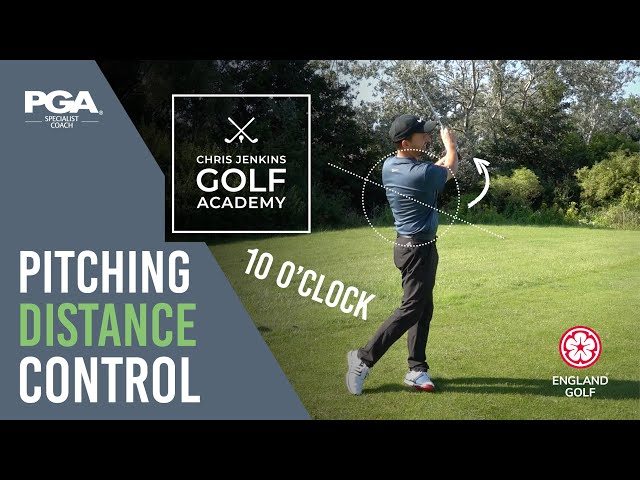 Perfect Pitching Distance Control for Intermediate / Advanced Golfers