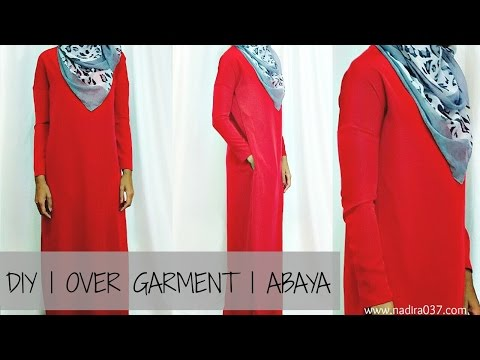 Nadira037 | DIY | Easy | Overgarment |  Abaya