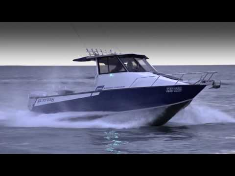 Surtees Boats 700 Sport Fisher...The ultimate trailer offshore fishing boat