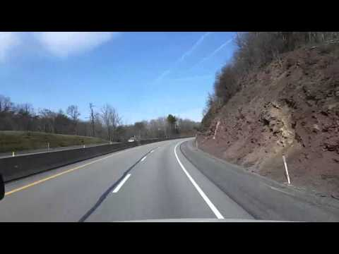 BigRigTravels LIVE! - Breezewood, PA  to near Beaver Falls, PA - Wed Mar 23 10:46:26 EDT 2016