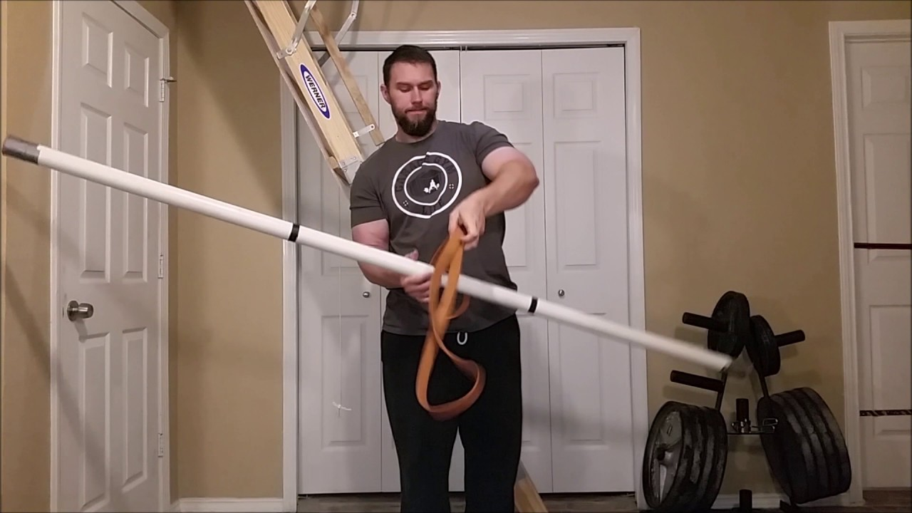 diy home gym lat pull down youtube
