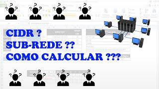 Como Calcular Mascara de Sub-Rede / CIDR