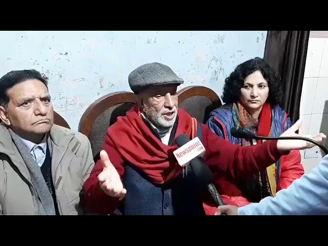 Hold delimitation before Assembly elections: Patron JKNPP, Prof Bhim Singh