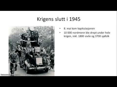 Norge under 2. verdenskrig - Oversikt