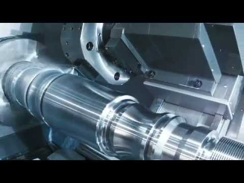 ST-55 Cutting Demo - Haas Automation CNC Lathe Turning