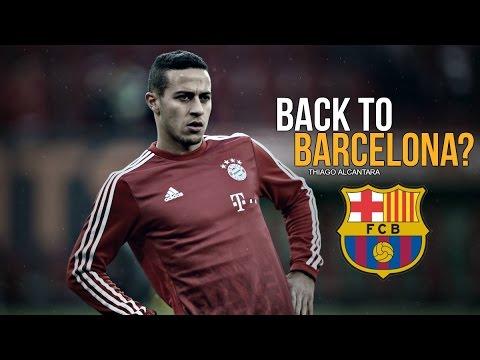 Thiago Alcántara - Back To Barcelona? -  2016/17 HD