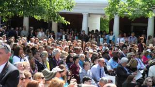 University of Virginia 2014 Graduation, Final Exercises
