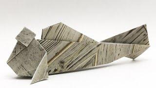 折り紙 トビハゼ Origami mudskipper 音声解説&補助図つき!
